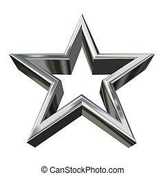 3d, inargentare stella