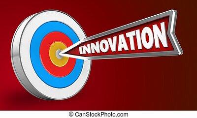 3d innovation arrow