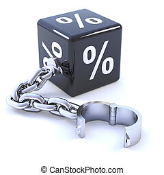 3d Interest rate dice on chain