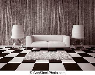 3d interior