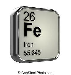 3d Iron element