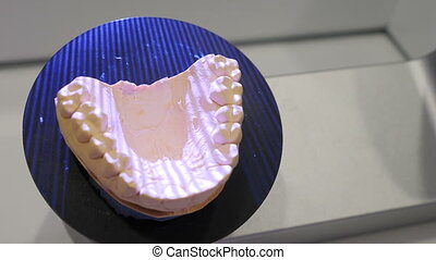 3d jaw scanning in modern dentistry. Dental prosthetic ...