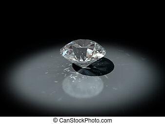 3D jewelry brilliant cut diamond - 3D jewelry, brilliant cut...