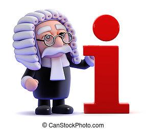 3d Judge information