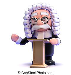 3d Judge lectures