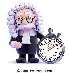 3d Judge timer