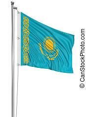 3D Kazakh flag