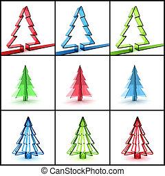 Boompje Concept Paraplu Kleurrijke 3d Concept Paraplu