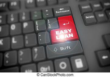 3d keyboard - easy loan
