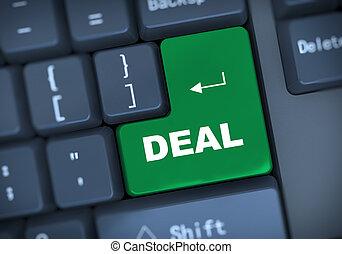3d keyboard text deal