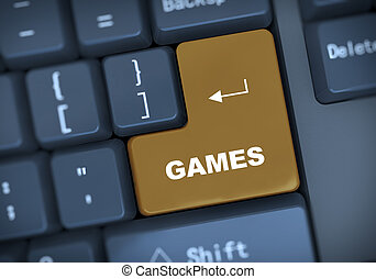 3d keyboard text games