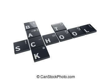 3d  keys arrangement to school