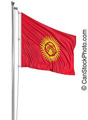 3D Kirghiz flag