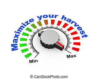 3d knob - maximize your harvest