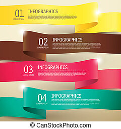 3d label infographic elements - 3d modern vector abstract ...