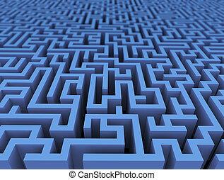 3d labyrinth maze challenge
