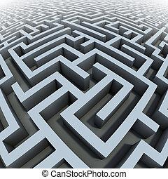3d, labyrinth