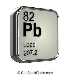 3d Lead element - 3d render of lead element design