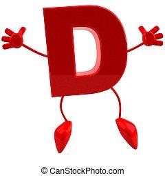 3d, lettera