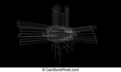 3D Line Art