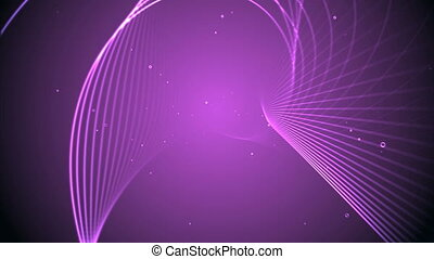 3d line background pink