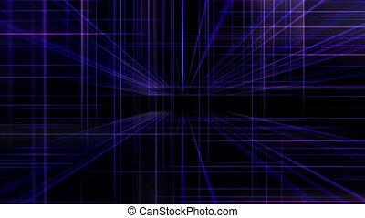 3d line cube