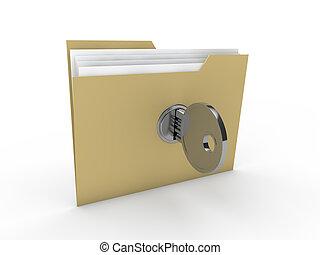 3d lock folder