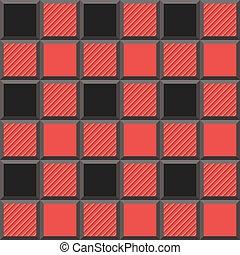 3D  Lumberjack Tartan Seamless Pattern
