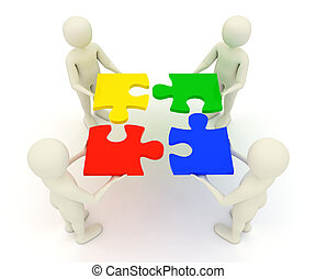3d, mężczyźni, dzierżawa, zebrany, zagadka wyrzynarki,...