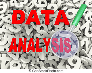 3d magnifier and data analysis