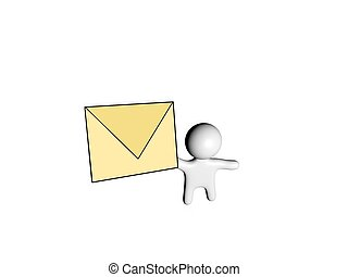 3d mail guy