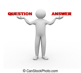 3d man balance Q & A