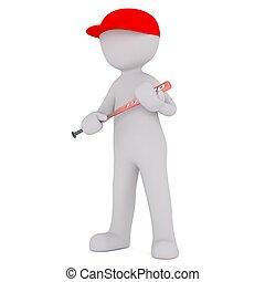 3d man baseball 92
