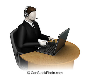 3d man call - 3d man support cente call working