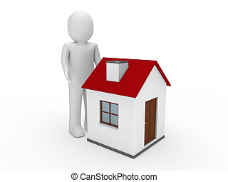 3d man house