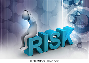 3d man in risk problem