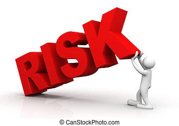 3d man lift word risk