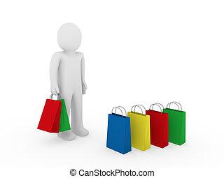 3d man sale bag