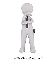 3d man security staff