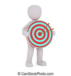 3d man target 99