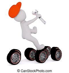 3d man tire repair 13 - 3d man tire repair