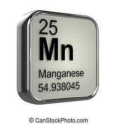 3d, mangaan, element