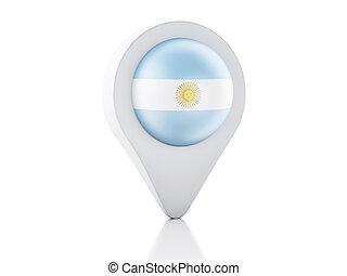 Argentina Button Flag Map Shape D Made Clip Art Search - Argentina map shape