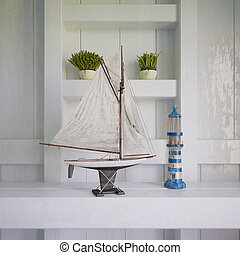 3d - maritime decoration - shot 02