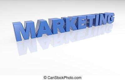 3D Marketing text - XXL
