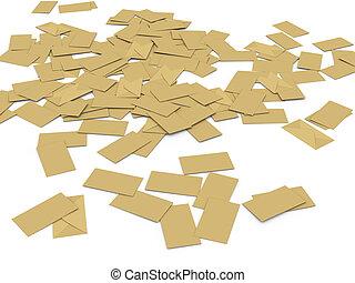 3d, massa, envelopes