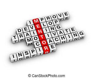 3d, mentoring, mots croisés, puzzle.