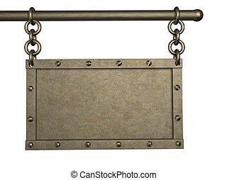 3d metal tablet