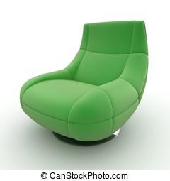 3d, mobília, detalhado