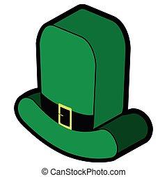 3d model of an irish hat